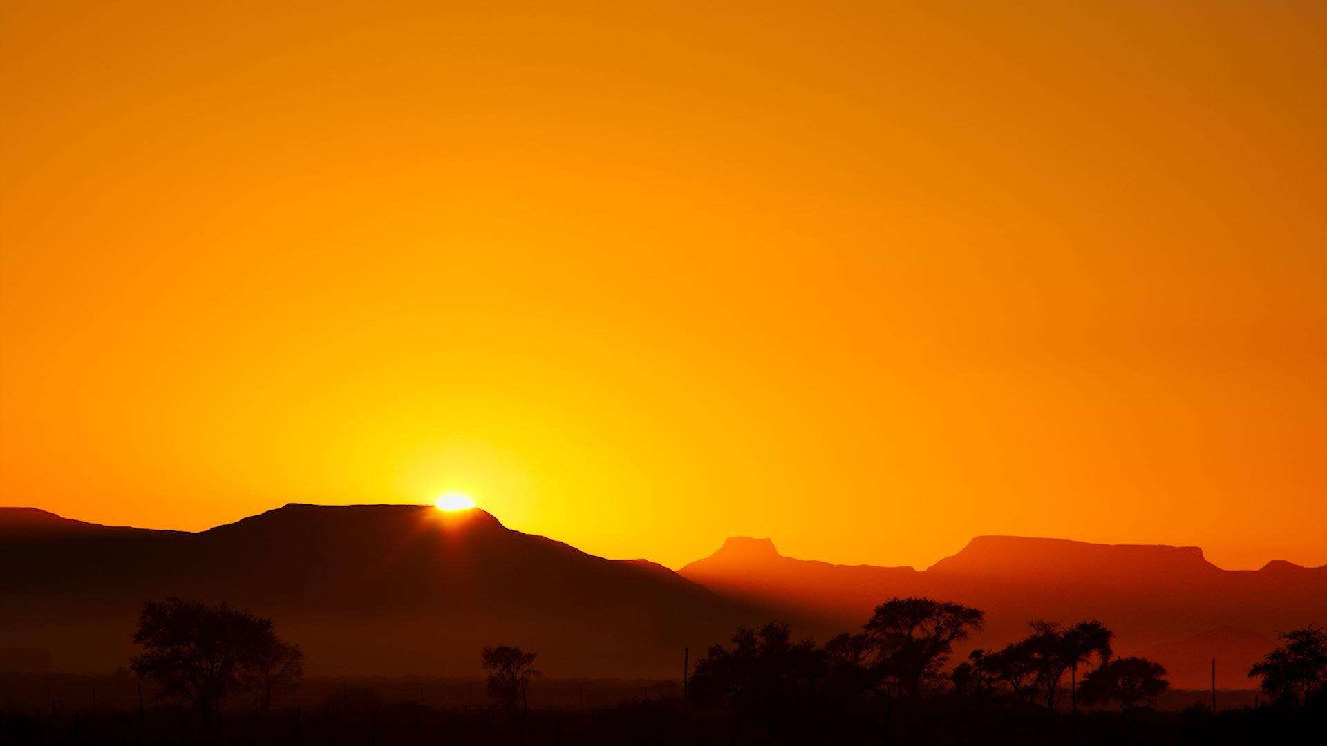 Namibian sunrise